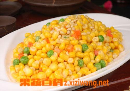 果蔬百科松仁玉米